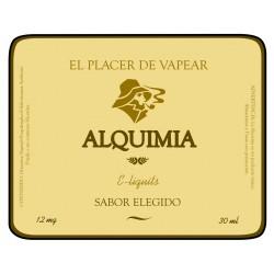 E-liquido marca Alquimia