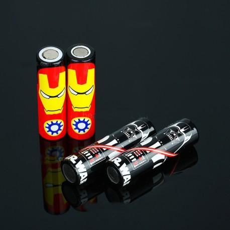 Envoltura plástica baterías 18650