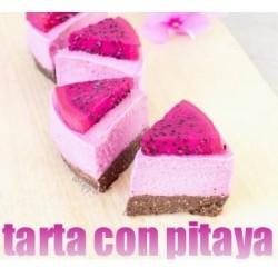 TARTA CON PITAYA